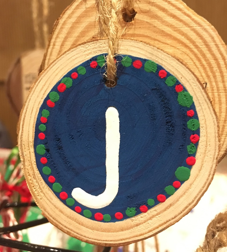 Personalised Initial Ornaments