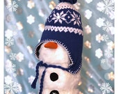 Topsy The Snowman Gnome, Christmas, Snow, Holiday