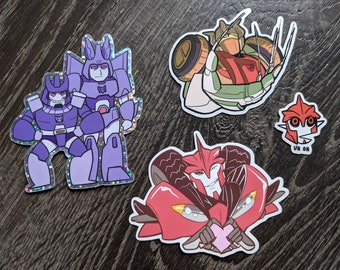 """Transformers 3"""" Stickers"""