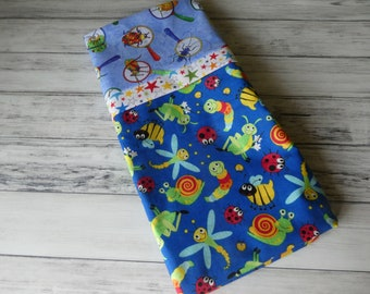 Kids Bugs Beetles Standard Size Pillow Case Free Shipping