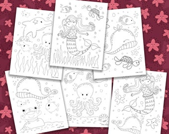 Popular Items For Kids Coloring Pages