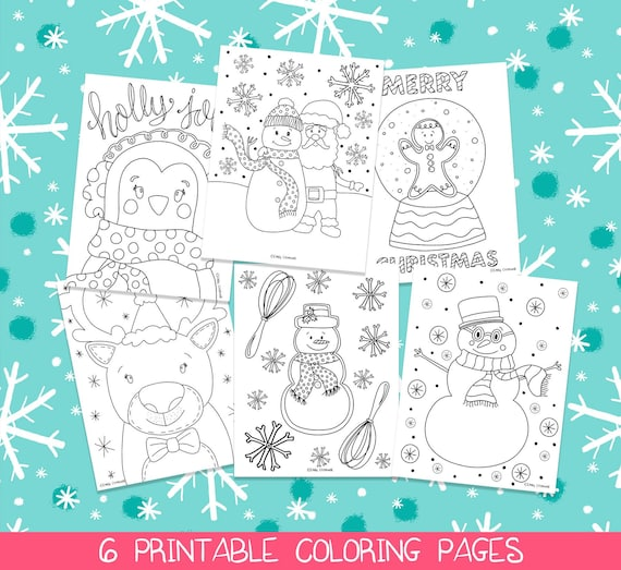 Christmas Coloring Pages Printable Coloring Pages Christmas