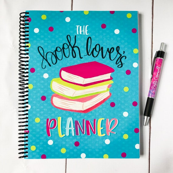 The Book Lover's Planner  Bookish Planner  Book Reviews