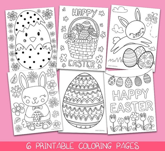 Easter Coloring Pages Printable Coloring Pages Easter Kids