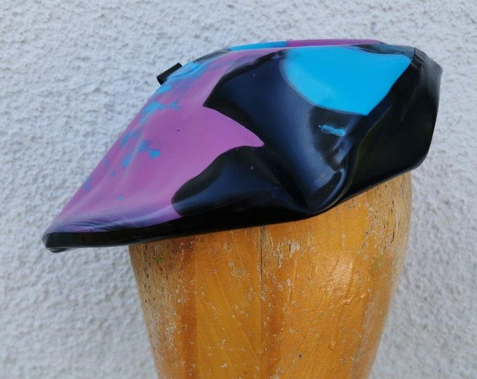 Latex beret 'Galaxy - Art'