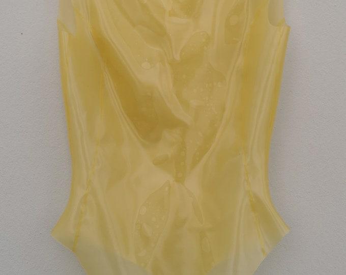 transparent latex body