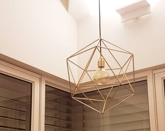 Geometric lighting | Etsy
