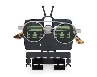 Robot Eye Glasses Holder Stand