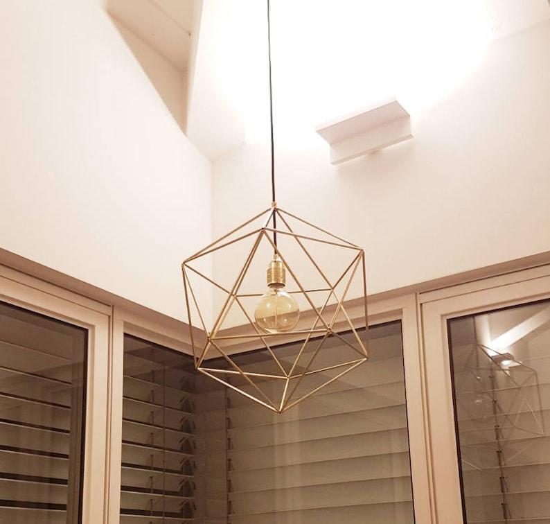 Image result for Geometric Chandelier