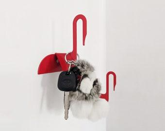 Modern Minimalist Swan Wall Hook