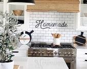 Homemade Metal Sign Homemade Sign Kitchen Decor Homemade