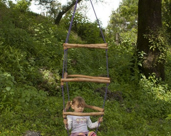 DIY Tutorial Wooden Monkey Bars/ Wiwiurka Wooden Climber /Outdoor-indoor  play structure waldorf inspired / Toddler's Climber