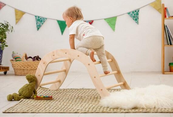 Kletter Dreieck Baby : Pikler klettern bogen für babys inspiriert etsy