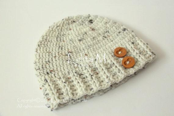 5cb6b890a8c Crochet baby hat unisex baby beanie baby boy baby girl