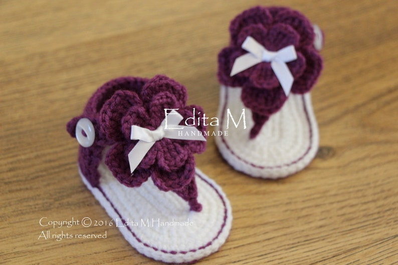 Sale Crochet Baby Sandals Gladiator Sandals Baby Booties Etsy