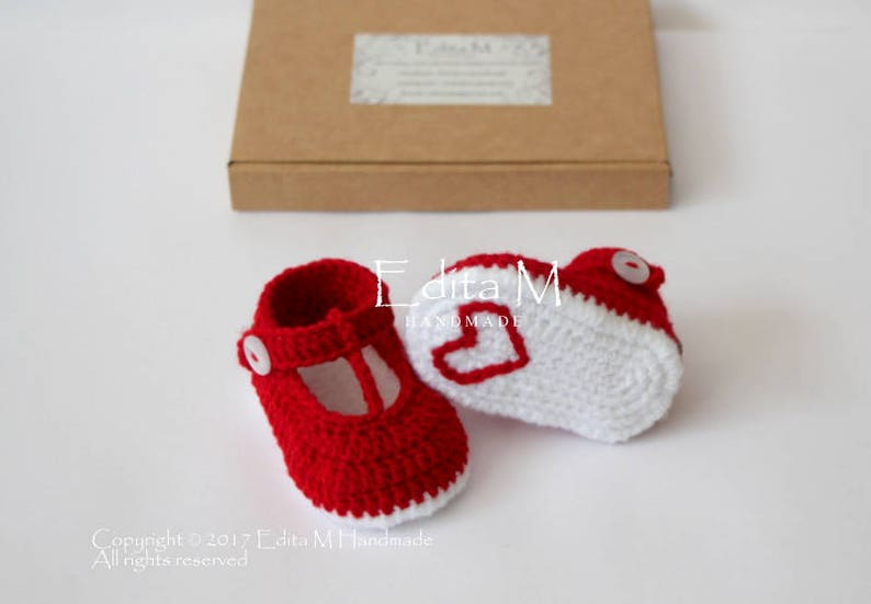 0d049416ae0 Unisex baby booties crochet baby shoes 0-3 3-6 6-9 months