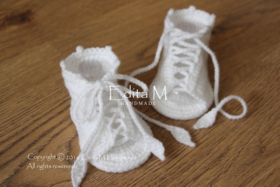 crochet baby gladiator sandals knit