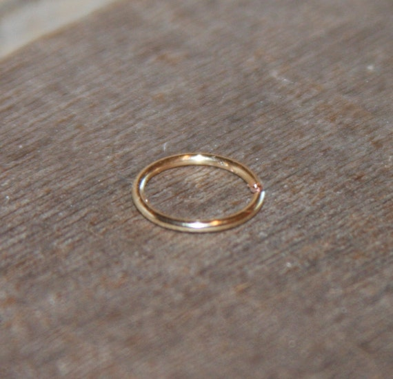 Nose Ring Extra Small 14k Gold Filled Hoop Earring Nose Ring Etsy