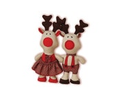 Reindeer Sewing Pattern P...