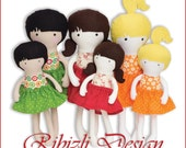 Doll Sewing Pattern 12 in...