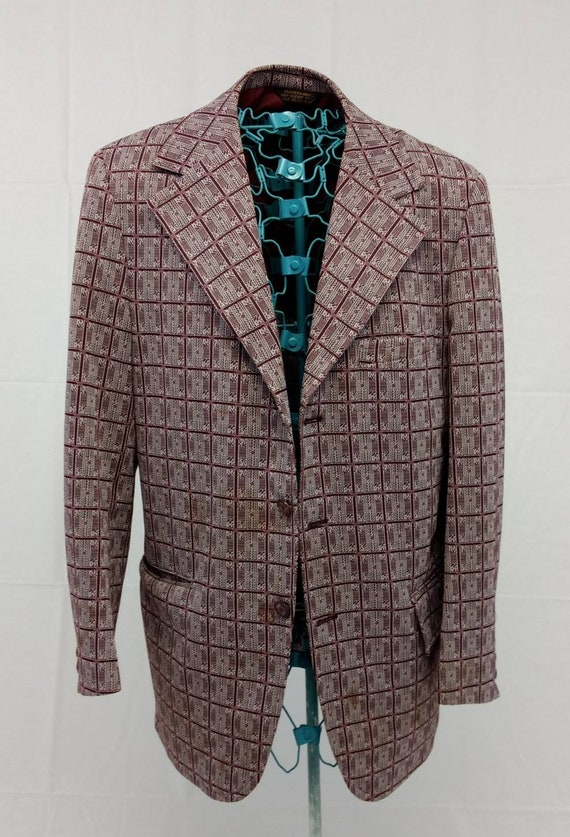 "Classic ""Lounge Lizard"" Polyester Suitcoat / Suit"