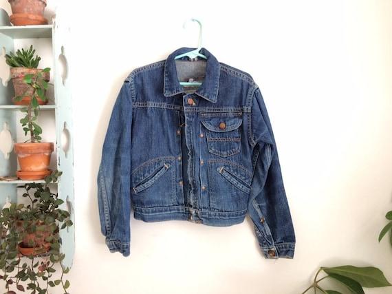 1950's Wrangler Blue Bell denim jacket - kids size