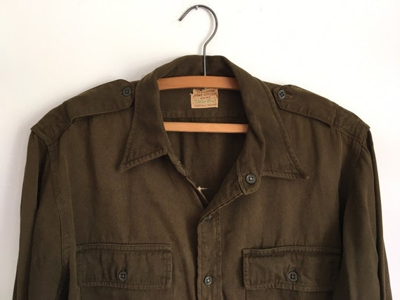1940's WWII Army officers shirt large/XL