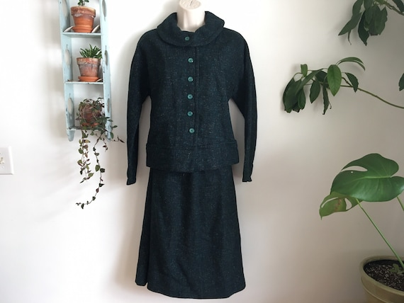 40's Peerless of Boston skirt suit S/M - image 2