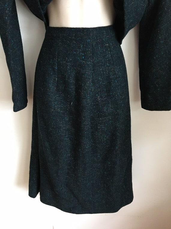40's Peerless of Boston skirt suit S/M - image 6