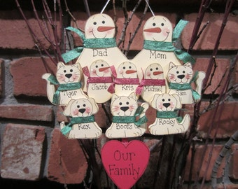 Items similar to Personalized Pet Photo Ornament on Etsy