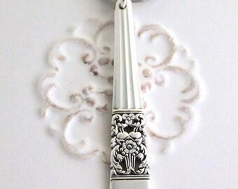 Silverware Key Holder Key Chain Key Ring ~ CORONATION 1936 ~ Ready To Ship ~ USA Made ~ Nice Gift