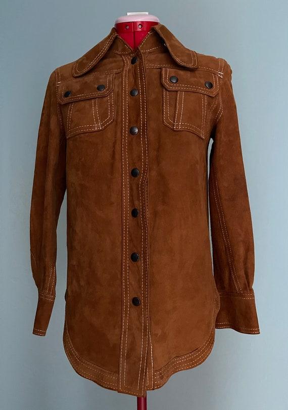 Genuine Suede Brown Jacket, Neiman Marcus, Women S