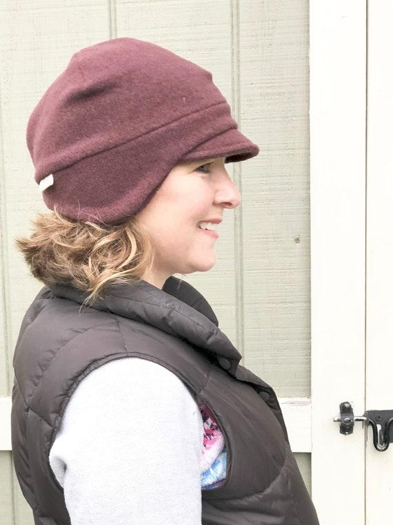 Winter Fleece Hat Earflap Beanie Women s Earflap Hat  b7b27e25e