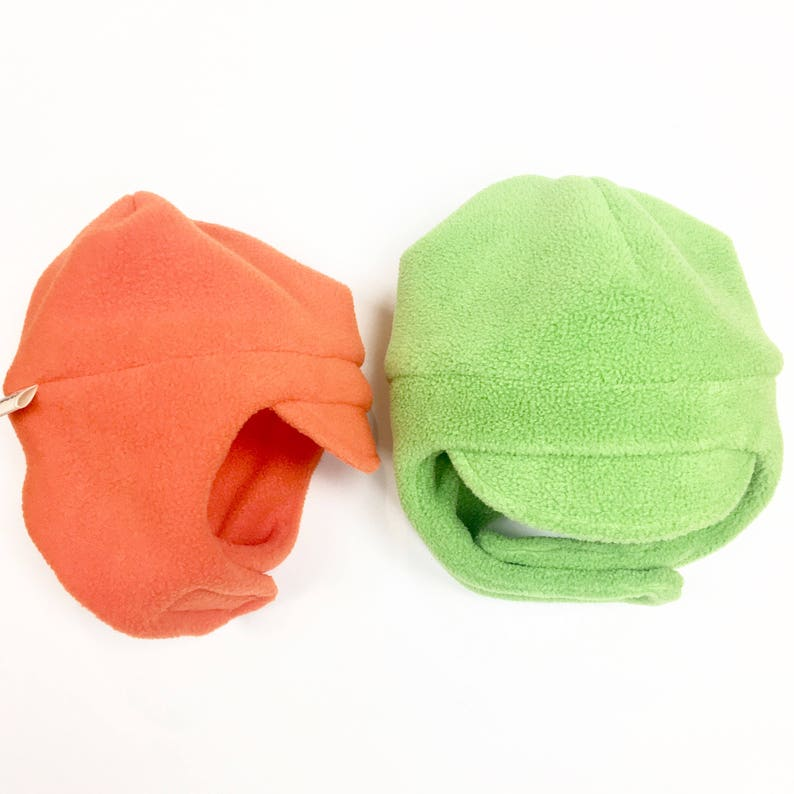 Toddler Ear Flap Fleece Hat Child Chin Strap Hat Fleece  ea4fbfea448