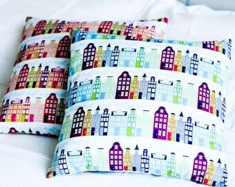 Town House Cushion Cover