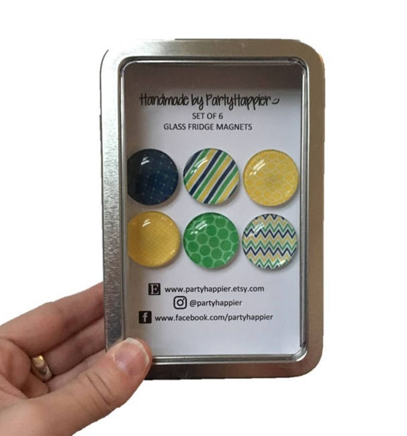 Decorative Magnets Tin  Fridge Magnets  Glass Magnets  Refrigerator Magnets  Office Decor  Fridge Magnet Set  Cute Magnet Set