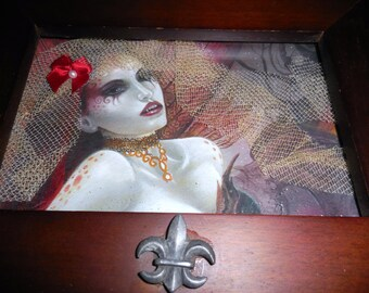 Reduced Price     Altered Box Vampire  Delicious  Seduction Altar Of Blood