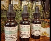 Customized tincture blend, organic and/or wildcrafted