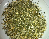 Customized herbal tea blend, certified organic