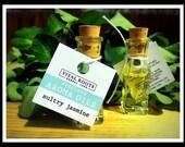 Sultry Jasmine, perfume oil, aroma oil, ultra-restorative, auriculatum, RARE