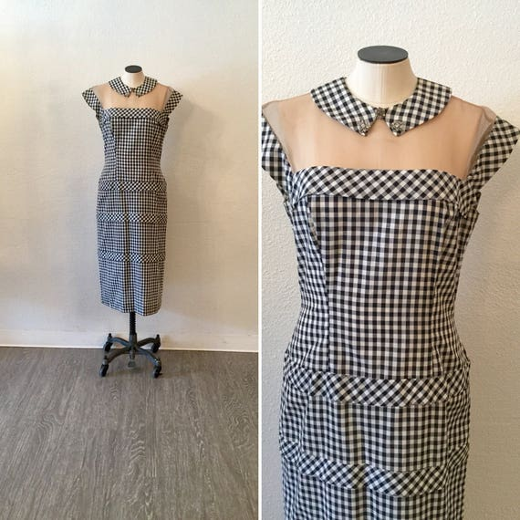 Vintage 50s dress | Vintage Lilli Diamond gingham
