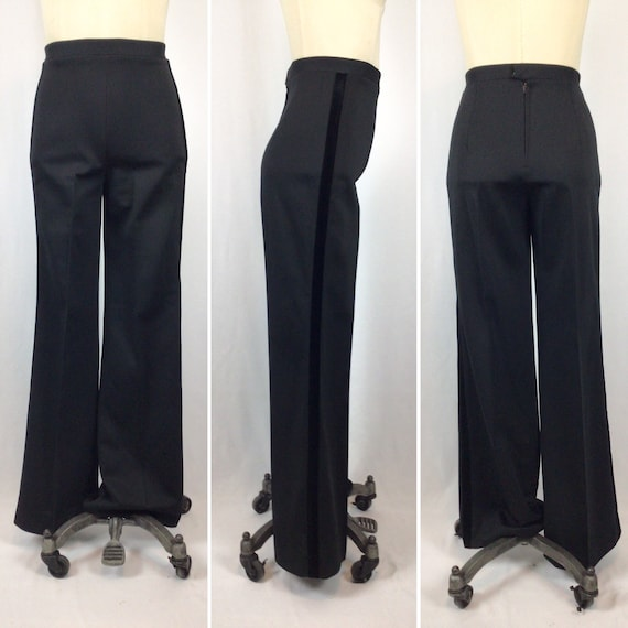Vintage 70S suit | Vintage black tuxedo pant suit… - image 6