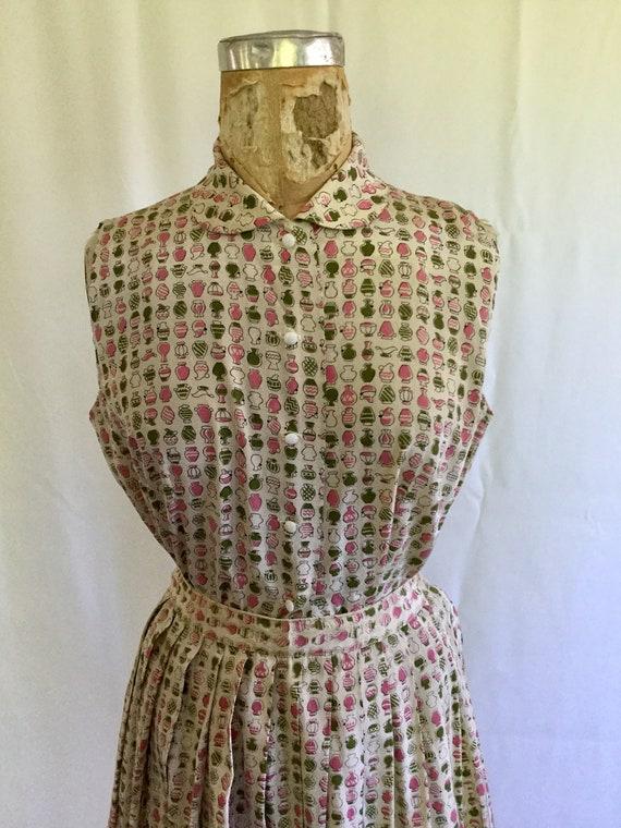 Novelty 50s top & skirt dress set | Vintage novel… - image 3