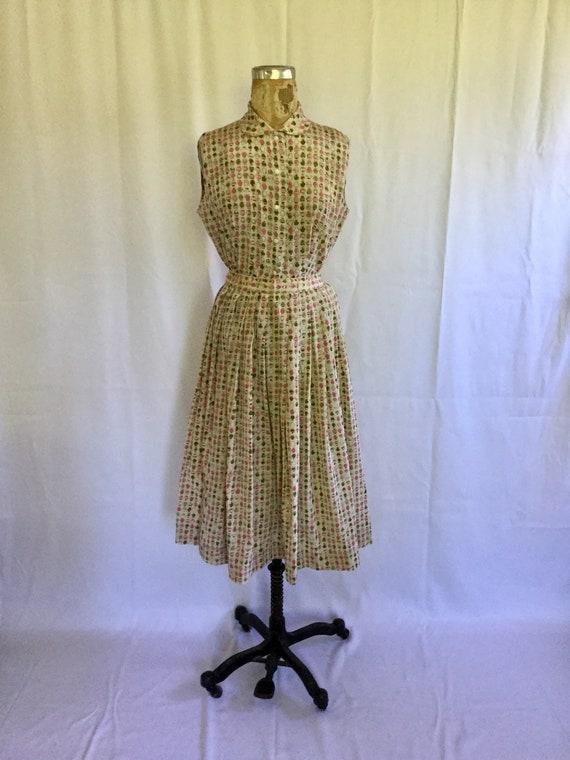 Novelty 50s top & skirt dress set | Vintage novel… - image 4