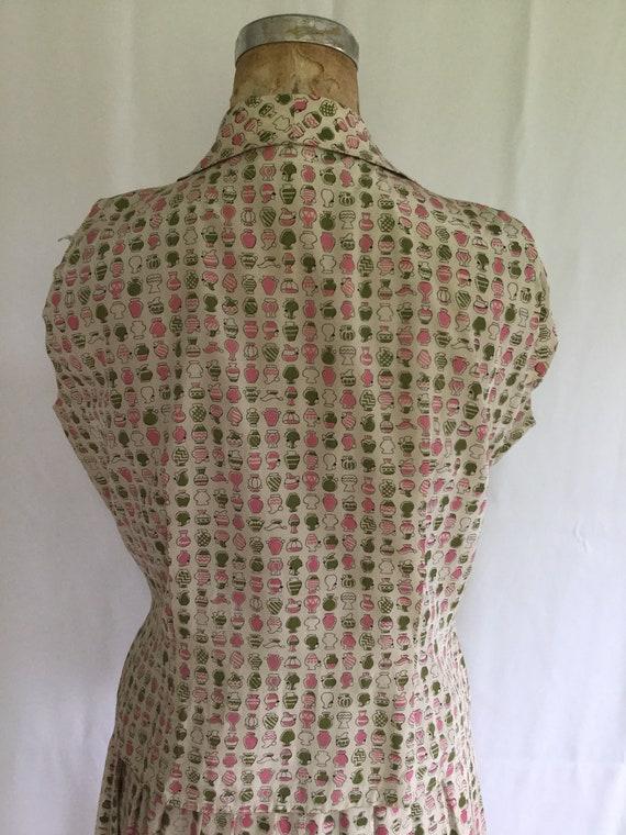 Novelty 50s top & skirt dress set | Vintage novel… - image 7