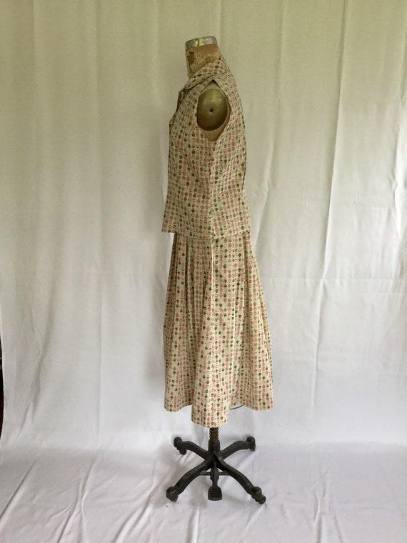 Novelty 50s top & skirt dress set | Vintage novel… - image 6