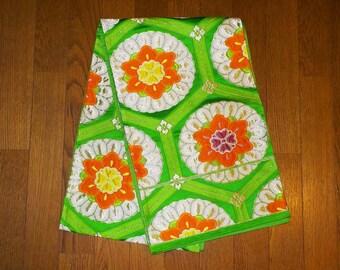 SALE 50%off!! - Vintage obi - Brocade, Floral and kikko, Fukuro-obi