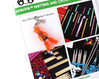 Hiya Hiya Animal Yarn Snips, Knitting Snips, Octopus, Puppy, Kitty Snips, Knitting Accessory, Crochet Accessory, Birthday Gift