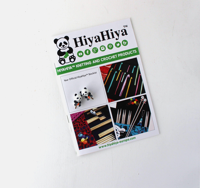 "HiyaHiya Large Sizes 5/"" FREE 2 Panda Stoppers :BAMBOO Interchangeable Set:"
