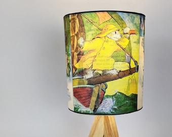 Sailor Dog Lamp ~ Upcycled ~ Repurposed ~ Vintage Golden Books, Nursery & Children